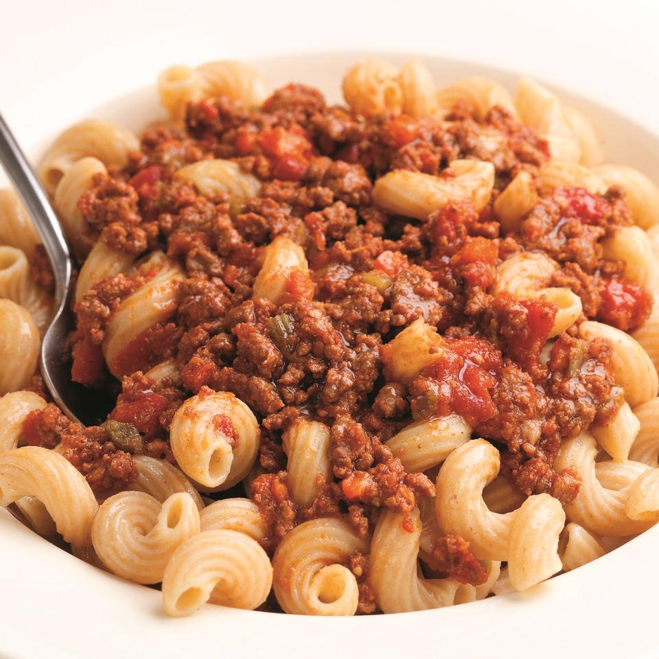 This is a version of the famous meat sauce of Emilia Romagna, of which Bologna is the capital. Giuliano Hazan's family is from Emilia Romagna, and he learned to make Bolognese sauce from his mother, Marcella, who learned it from her grandmother, Mary. Its classic pairing is with homemade tagliatelle or pappardelle but it's also very good with rigatoni, shells or any substantial pasta shape, preferably one with ridges, that has nooks and cavities to trap the sauce. Adapted from How to Cook Italian by Giuliano Hazan; Scribner, 2005.