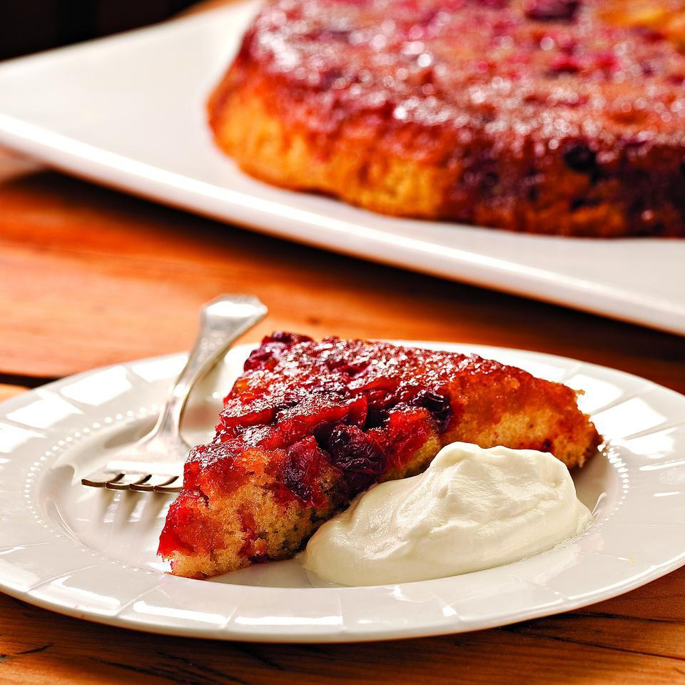 Cranberry Upside-Down Cake EatingWell Test Kitchen