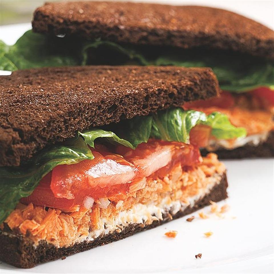 Salmon Salad Sandwich EatingWell Test Kitchen