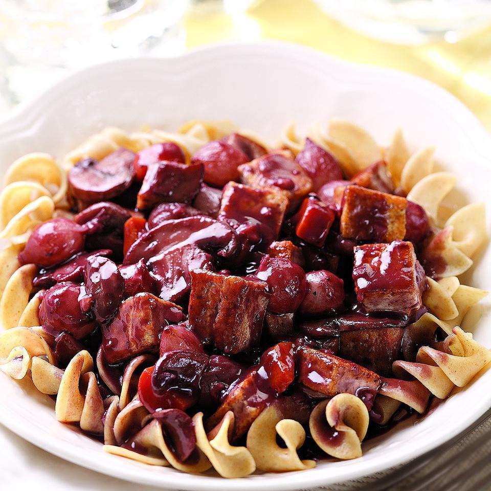 Tofu au Vin EatingWell Test Kitchen