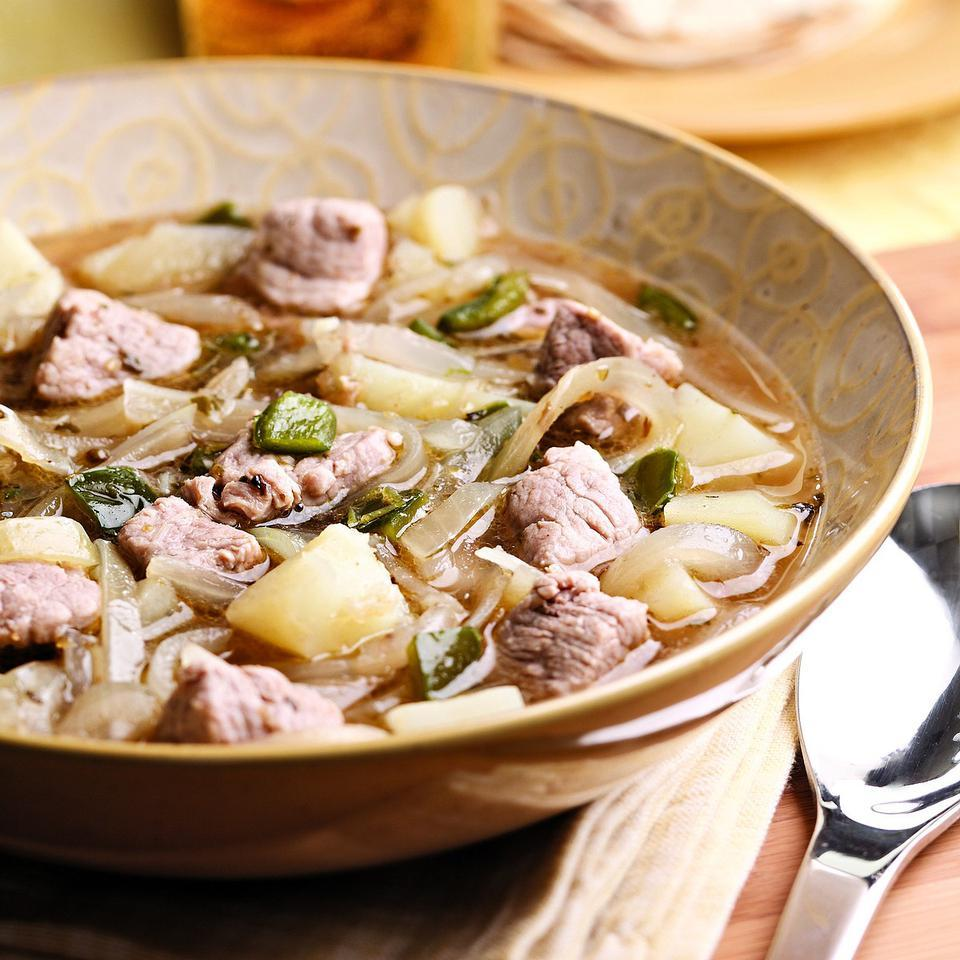 Quick Pork & Chile Stew EatingWell Test Kitchen