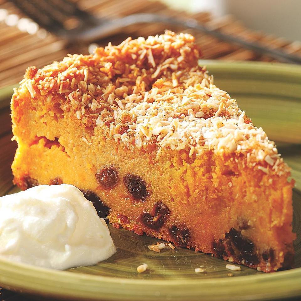 Sweet Potato Pudding Cake Carolyn Malcoun