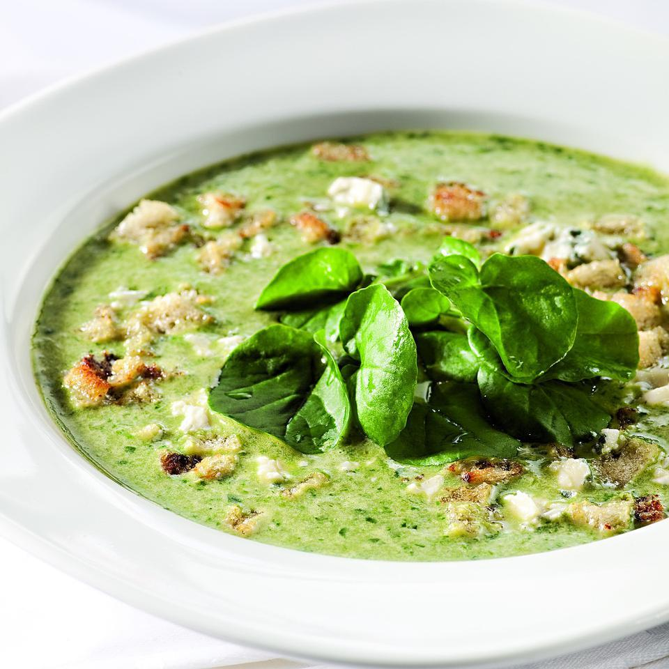 Creamy Watercress Soup Katie Webster