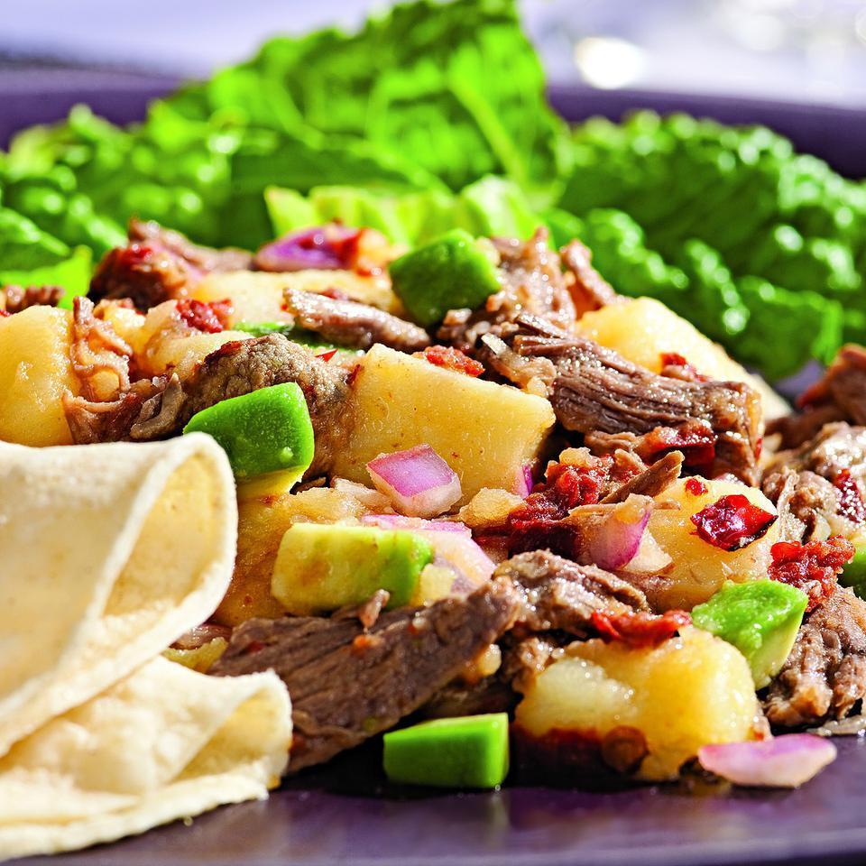 Beef & Potato Salad with Smoky Chipotle Rick Bayless