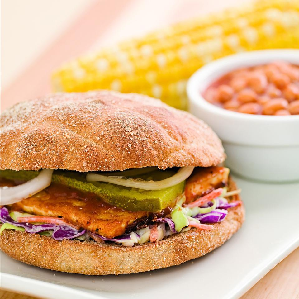 BBQ Tofu Sandwich EatingWell Test Kitchen