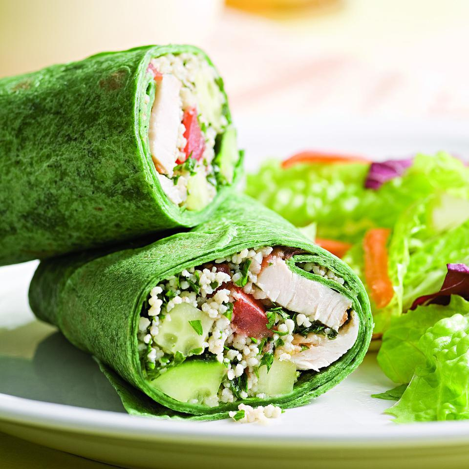 Mediterranean Wrap EatingWell Test Kitchen