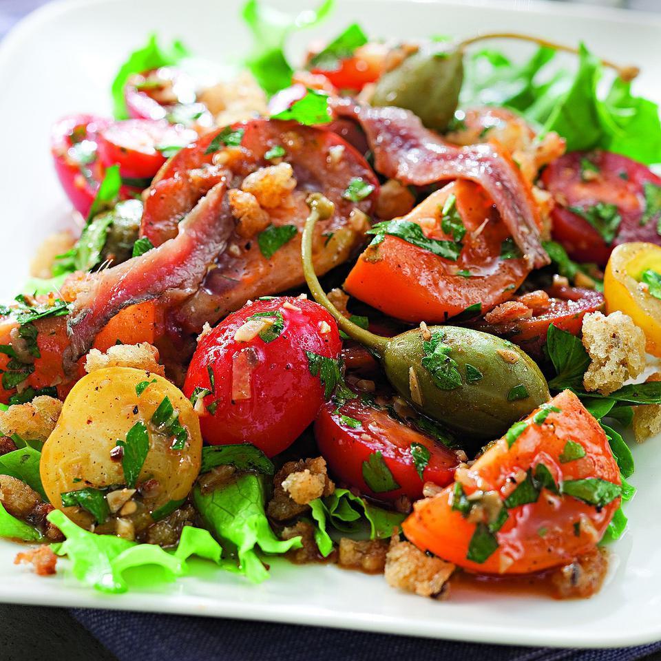 Spanish-Inspired Tomato Salad EatingWell Test Kitchen