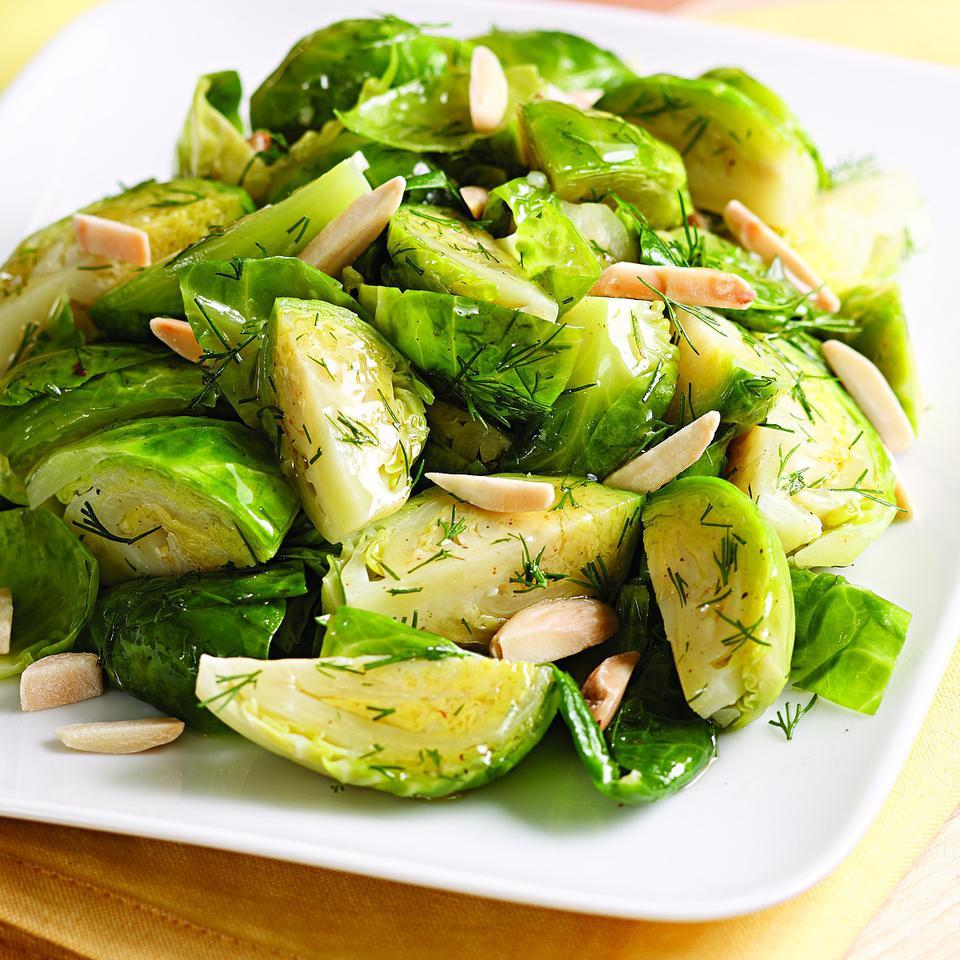 Brown Butter & Dill Brussels Sprouts EatingWell Test Kitchen