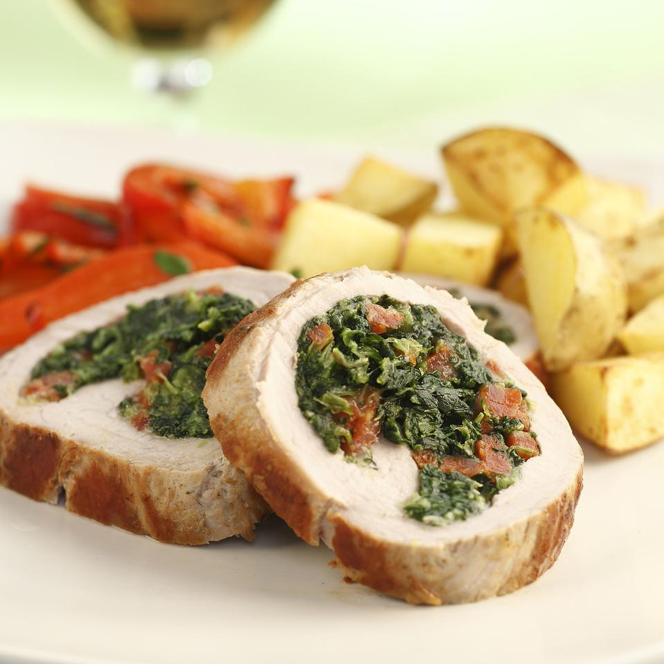 Chorizo-Stuffed Pork Tenderloin EatingWell Test Kitchen