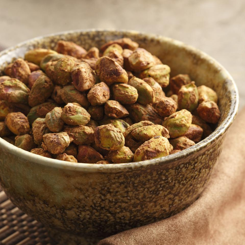 Five-Spice Pistachios EatingWell Test Kitchen