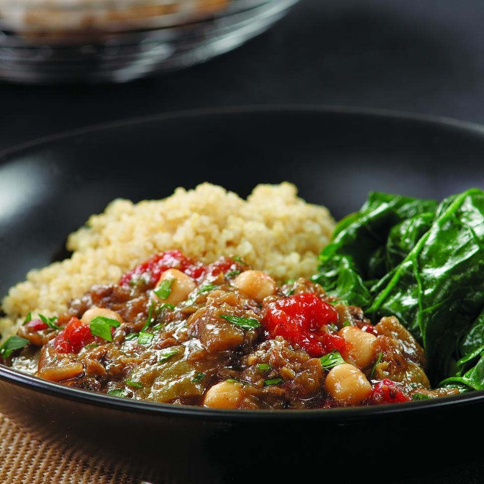 Eggplant & Chickpea Stew Judith Finlayson