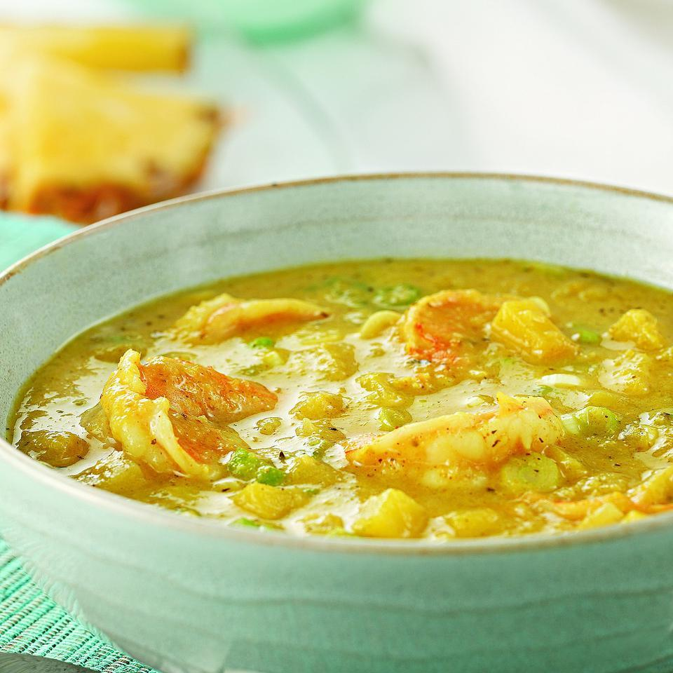 Jamaican Curried Shrimp & Mango Soup EatingWell Test Kitchen