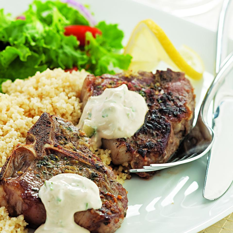 Lemon & Oregano Lamb Chops Melissa Pasanen