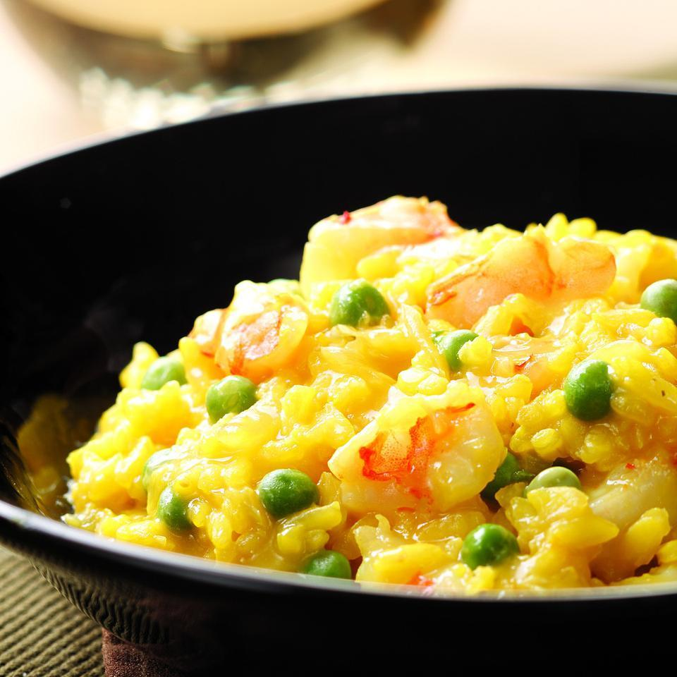 Shrimp & Pea Risotto EatingWell Test Kitchen