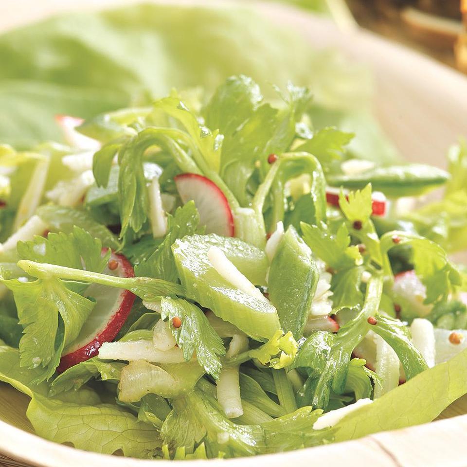 Radish, Celery & Snap Pea Salad EatingWell Test Kitchen