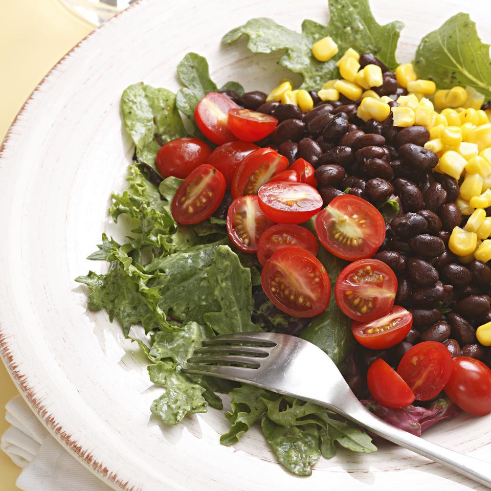 Southwestern Salad with Black Beans EatingWell Test Kitchen