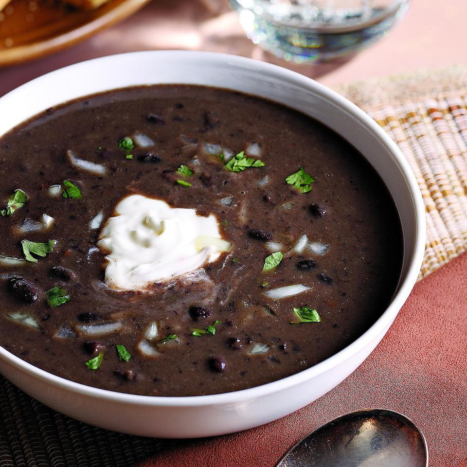 Smoky Black Bean Soup Joyce Hendley