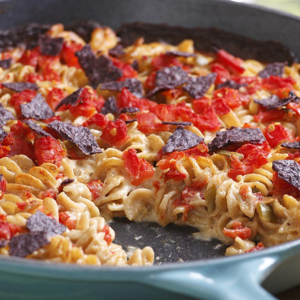 Tuna-&-Tomato Mac & Cheese EatingWell Test Kitchen