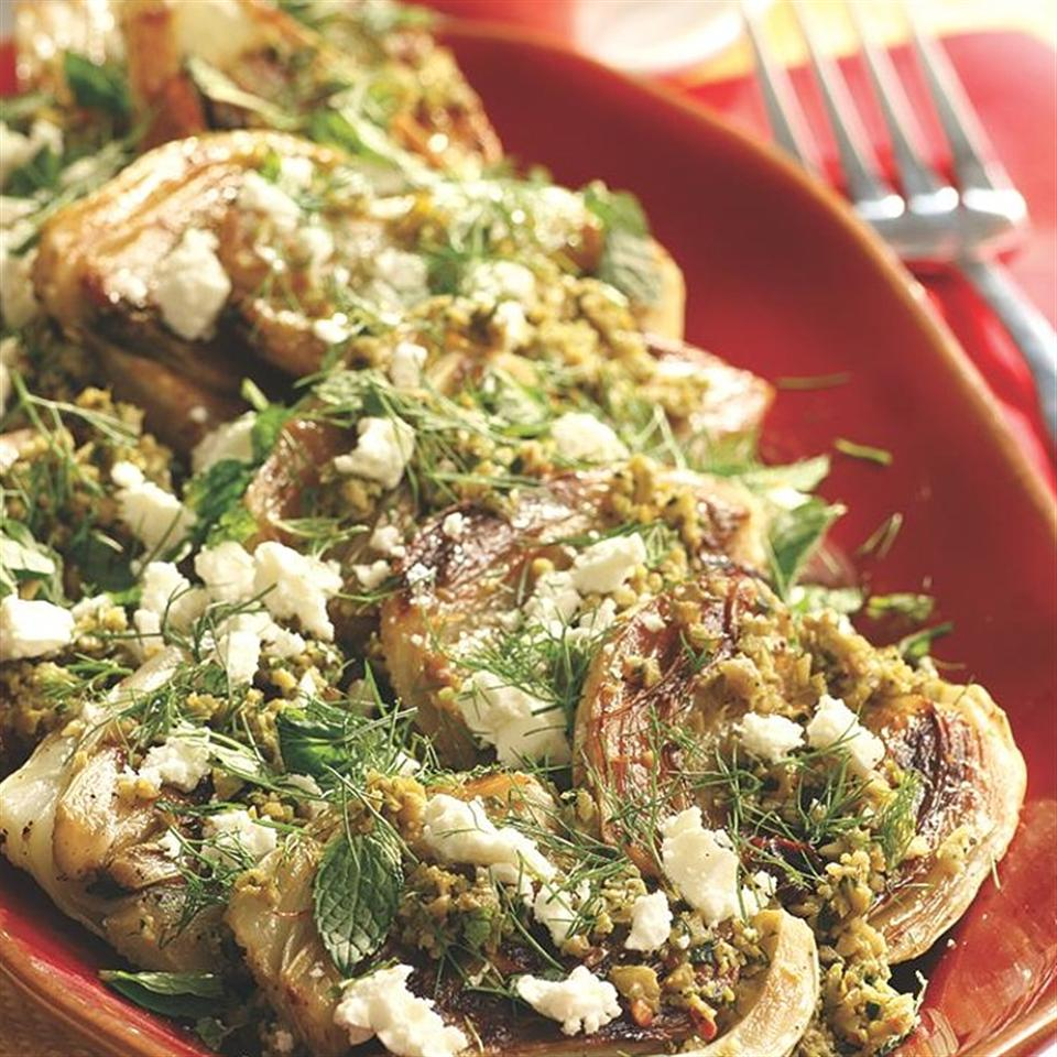 Roasted California Fennel with Olive Tapenade, Feta & Mint EatingWell Test Kitchen