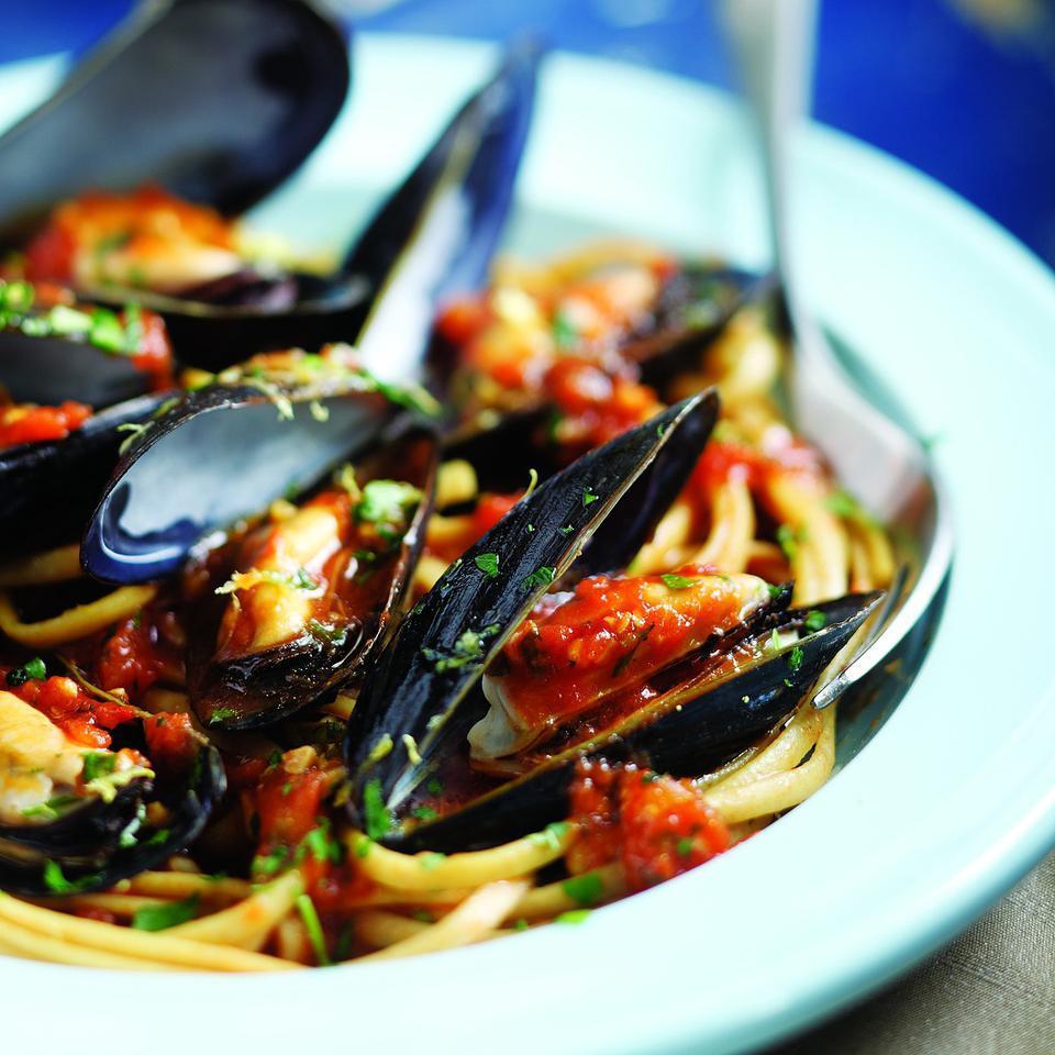 Italian Mussels & Pasta John Ash