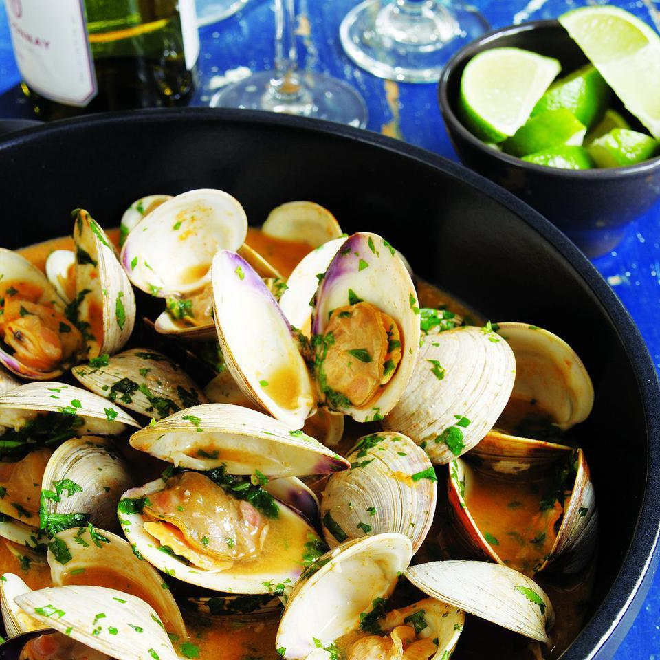 Red Curry Clams John Ash