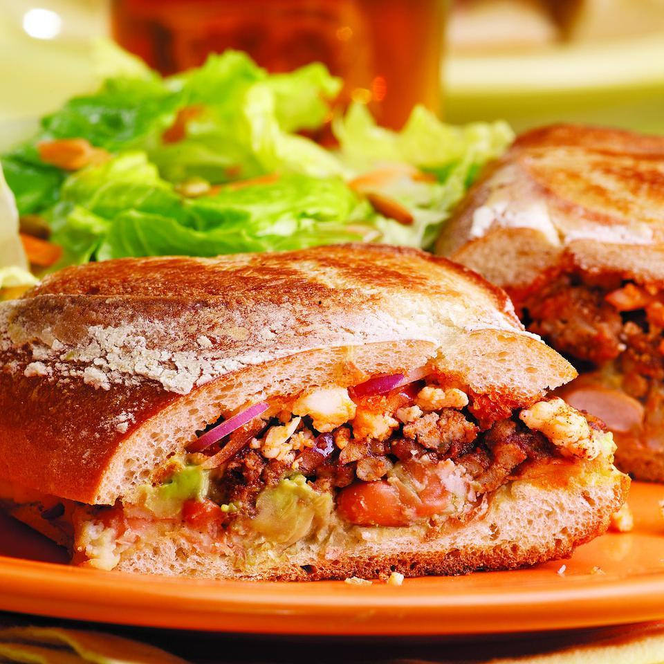 Homemade Chorizo Tortas EatingWell Test Kitchen
