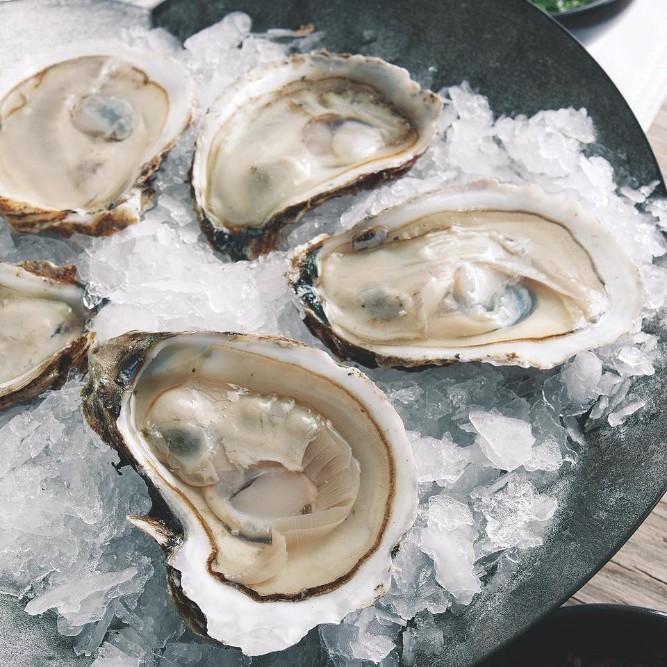 Oysters on the Half Shell with Mignonette Sauce John Ash
