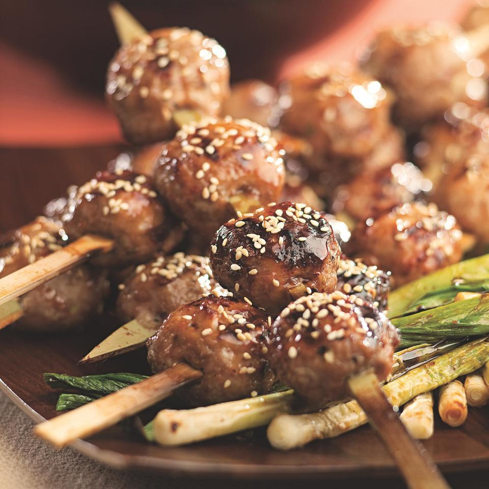 Japanese Chicken Meatballs (Tsukune) Bruce Aidells