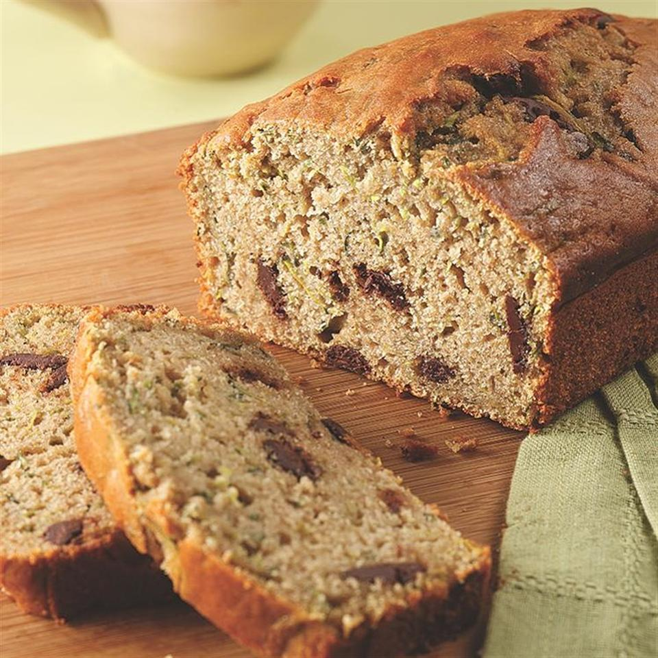 EatingWell Zucchini Bread with Chocolate Chips EatingWell Test Kitchen