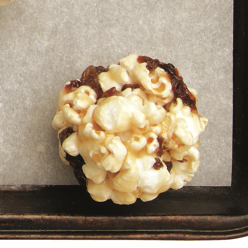 Caramel-Raisin Popcorn Balls EatingWell Test Kitchen
