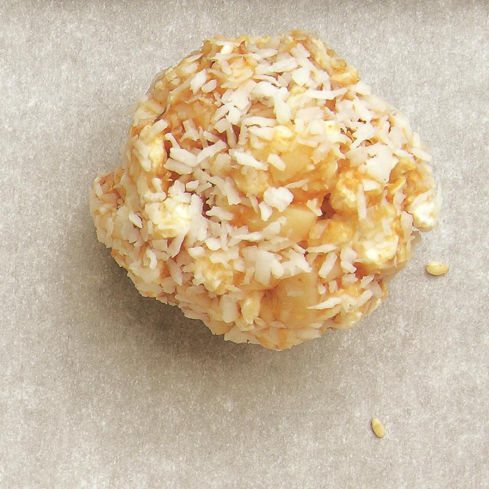 Tropical Popcorn Balls EatingWell Test Kitchen