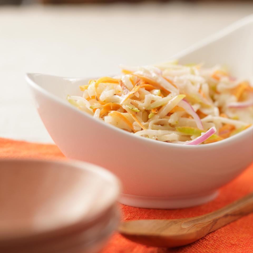 Pear & Celery Root Slaw EatingWell Test Kitchen