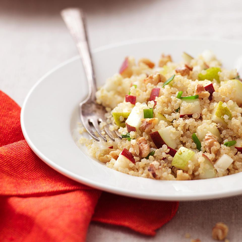 Pear-Quinoa Salad EatingWell Test Kitchen