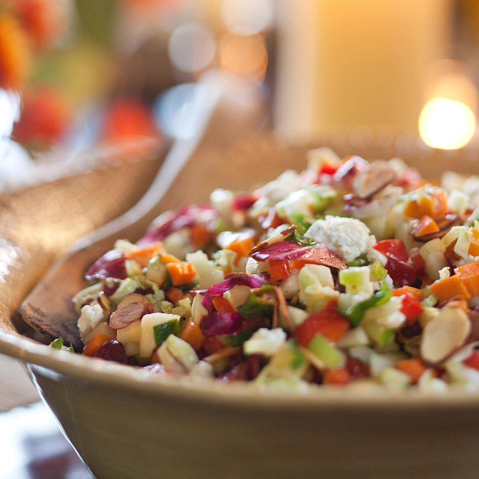 Use a Spoon  Chopped Salad EatingWell Test Kitchen
