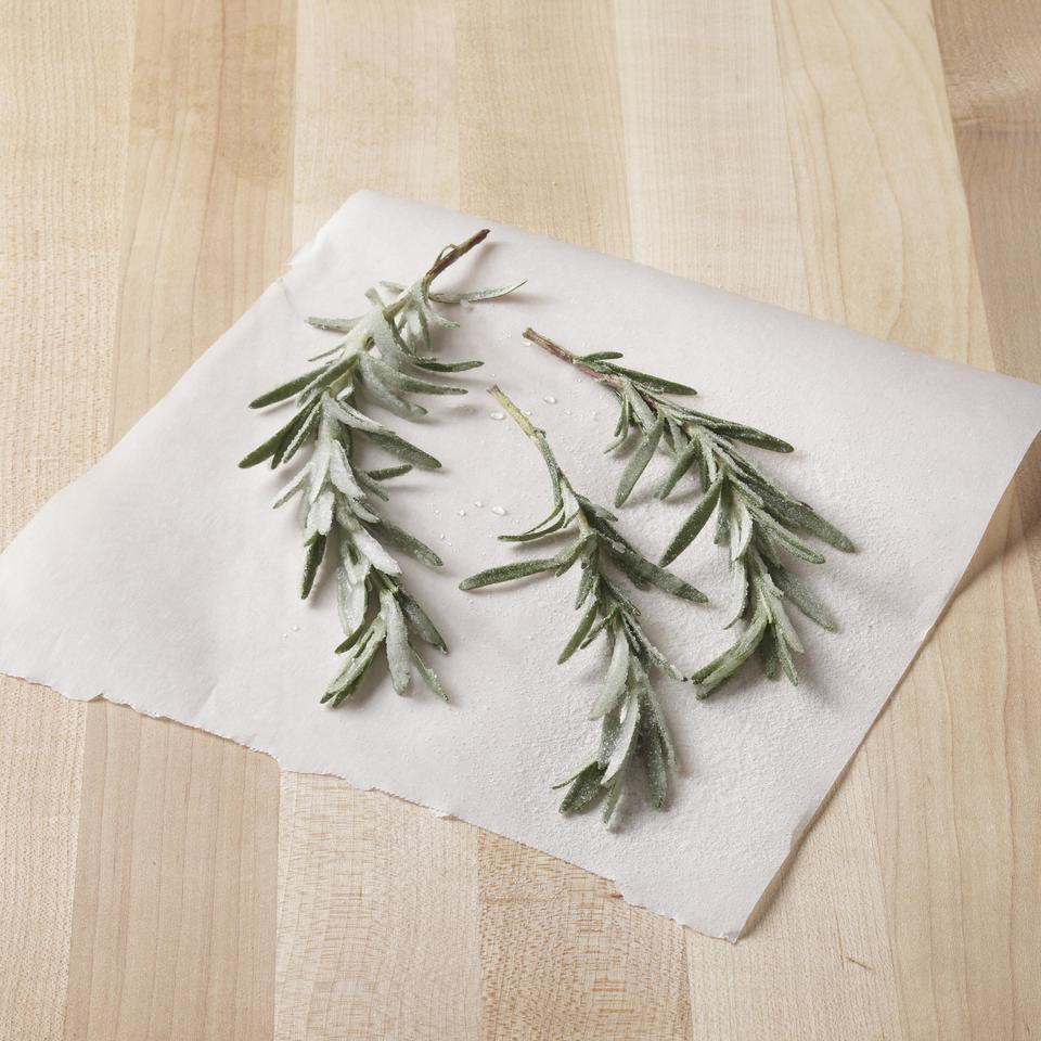 Sugared Rosemary EatingWell Test Kitchen