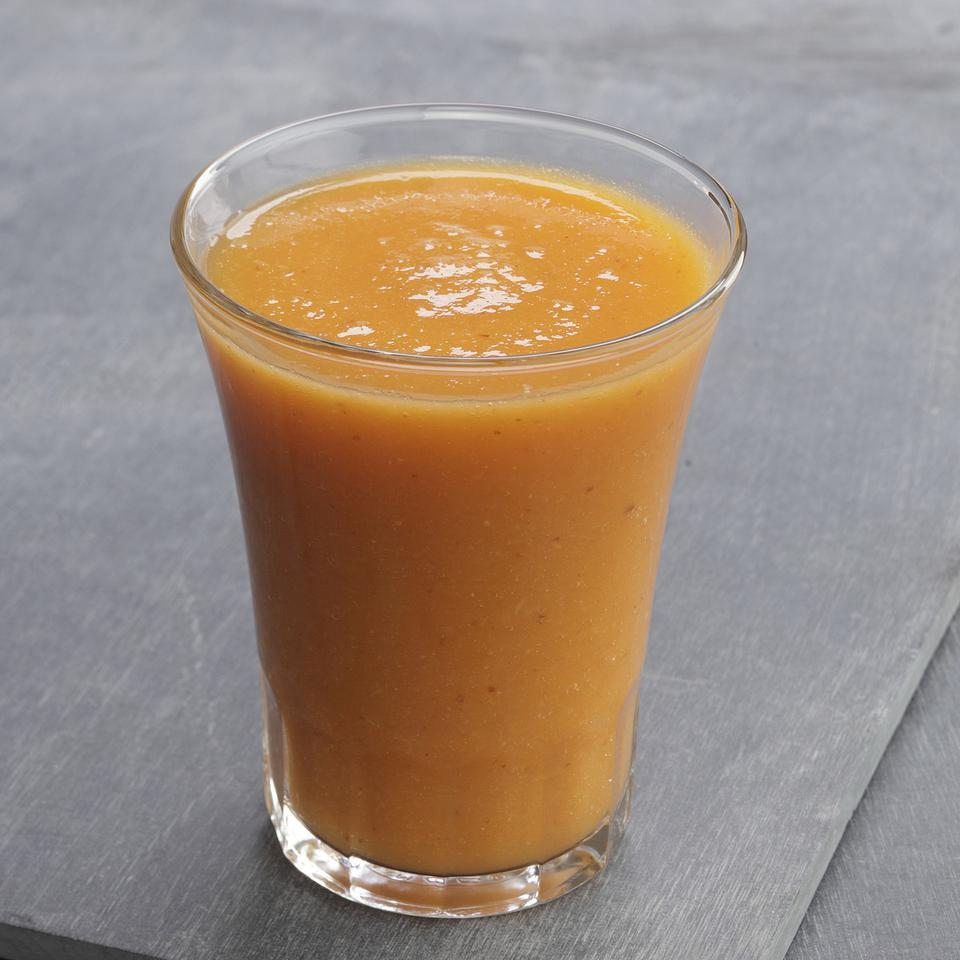 Get Your Orange  Flax Smoothie EatingWell Test Kitchen