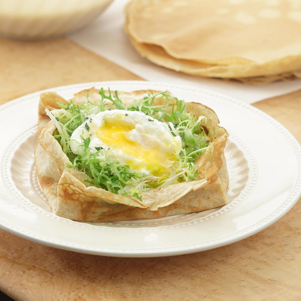Bistro Salad Crepes EatingWell Test Kitchen