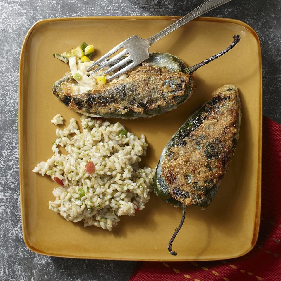 Chiles Rellenos with Chicken Carolyn Casner