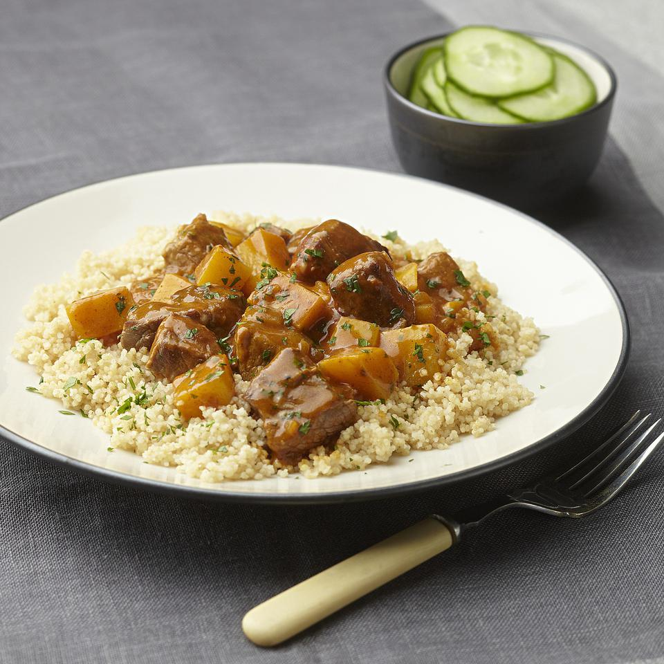 Couscous with Rutabaga & Beef Stew EatingWell Test Kitchen