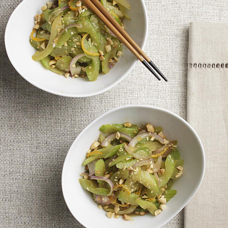 Stir-Fried Celery with Peanuts Marie Simmons