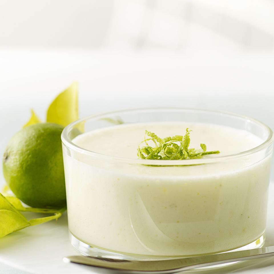 Chilled Key Lime Mousse Lori Longbotham