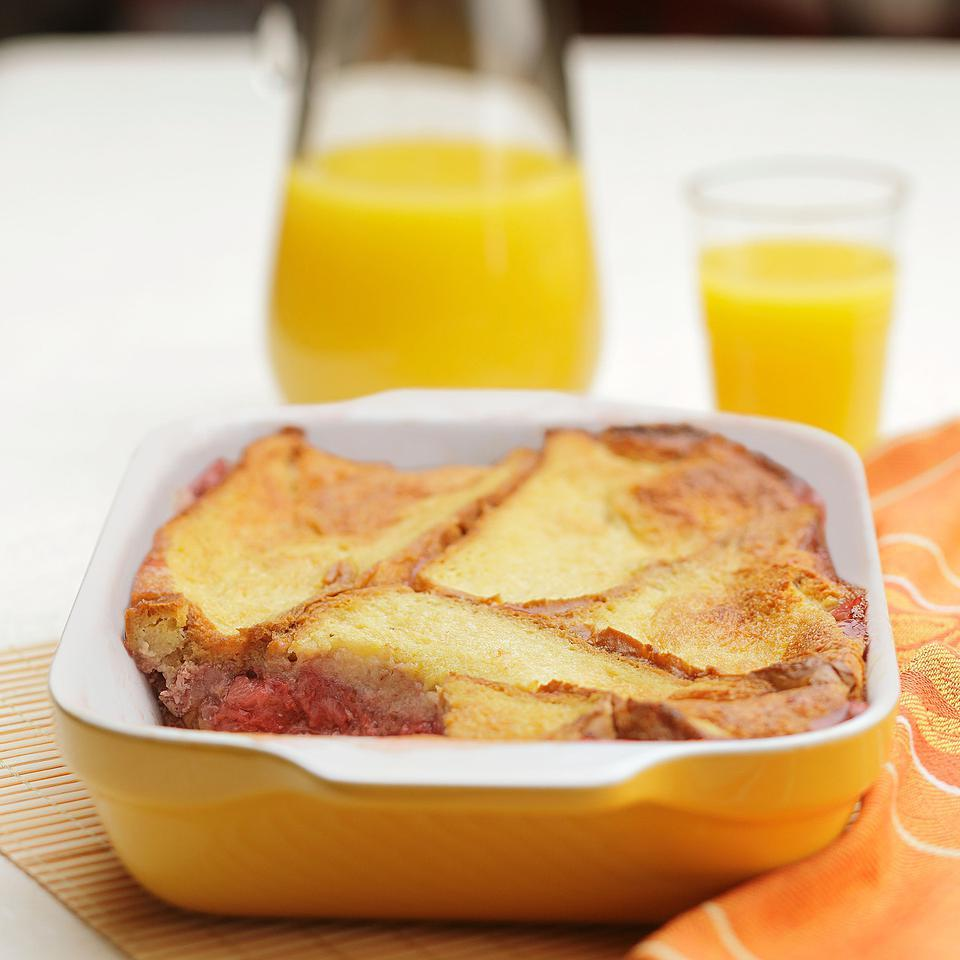 Breakfast Fruit Bread Pudding Jan Ellen Spiegel