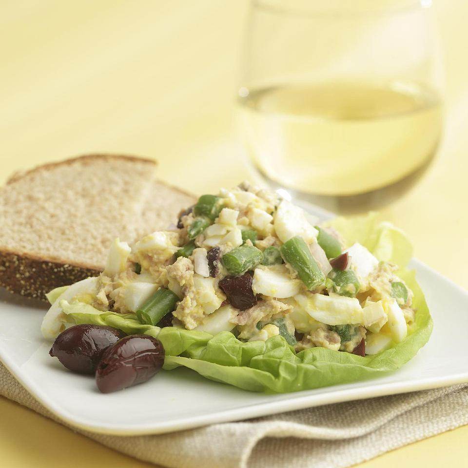 Nicoise Egg Salad EatingWell Test Kitchen