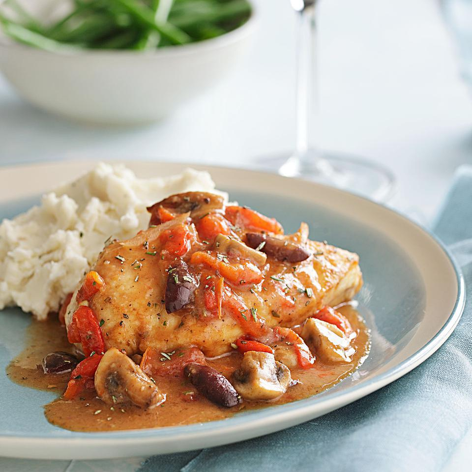 Quick Chicken Cacciatore EatingWell Test Kitchen