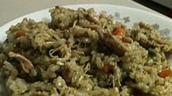 Peruvian Cilantro Rice