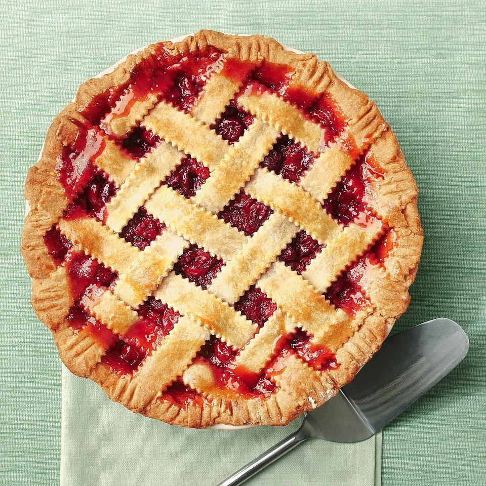 This cherry pie recipe is pure magic. If you can't find sour cherries, don't fret--it's also delicious with sweet cherries. The filling has a hint of clove and honey, which gives it a novel flavor. Serve this cherry pie with your favorite light vanilla ice cream or frozen yogurt. Source: EatingWell Magazine, May/June 2012