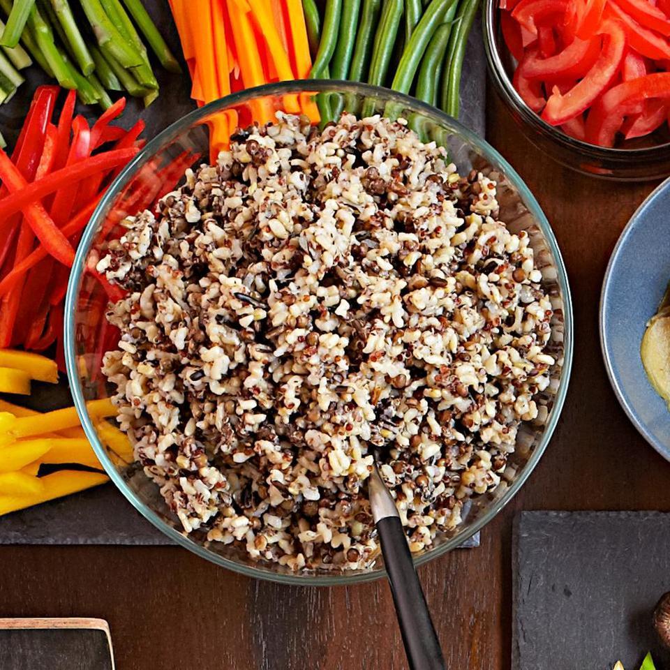 Whole-Grain Sushi Rice Bun Lai