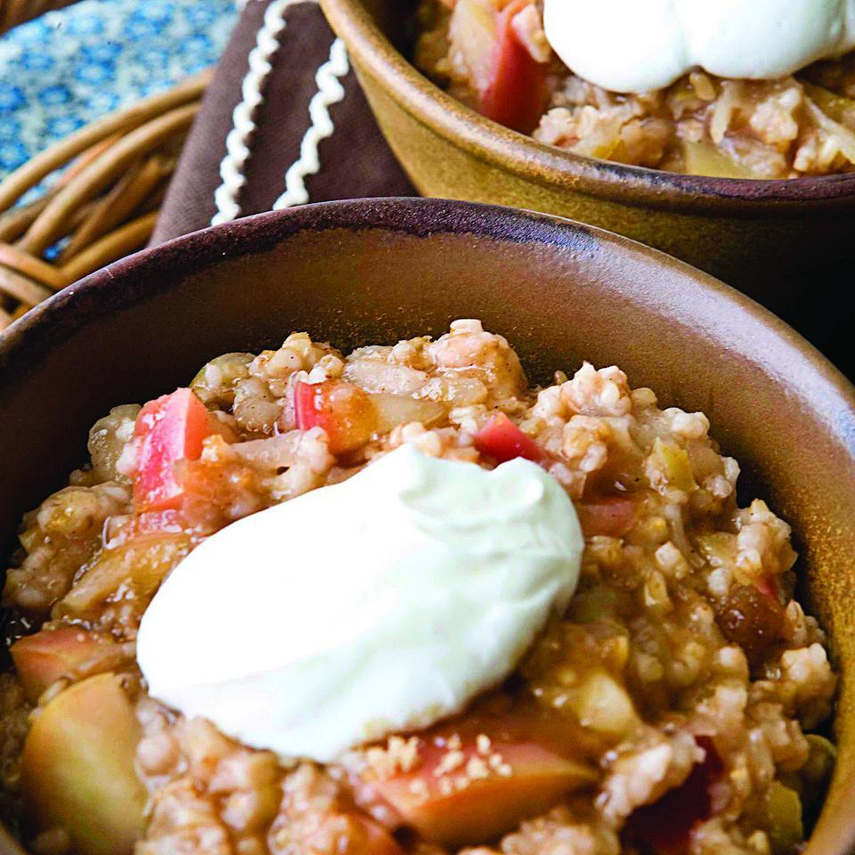 Apple Oatmeal EatingWell Test Kitchen