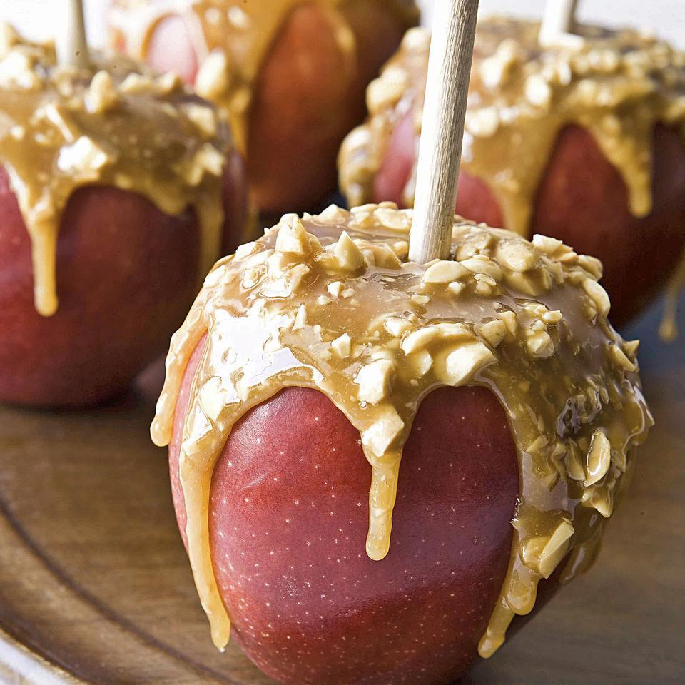 Caramel Apples EatingWell Test Kitchen