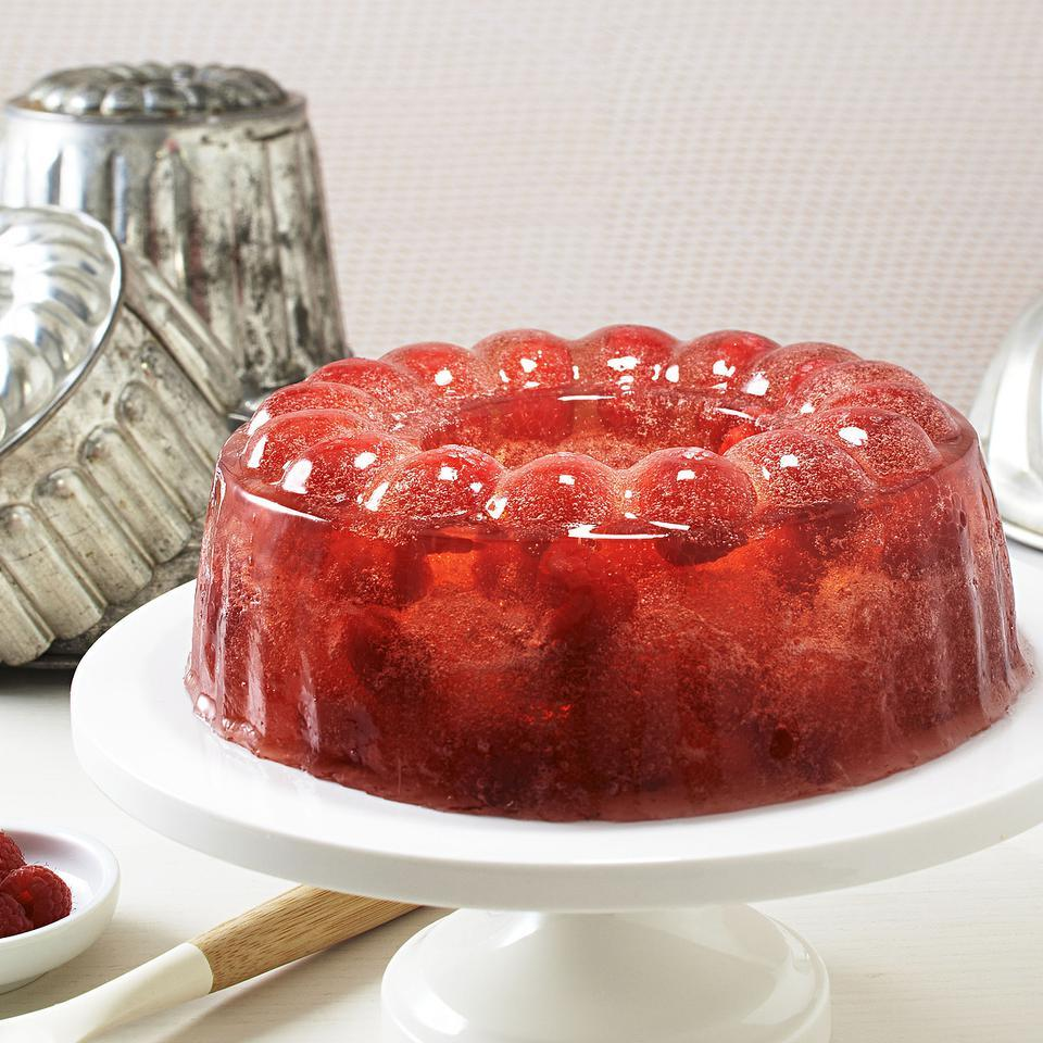 Raspberry Jello EatingWell Test Kitchen